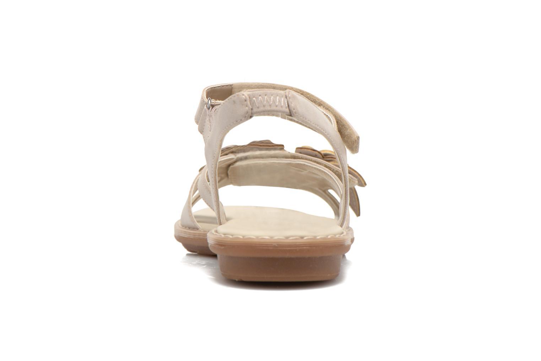 Sandali e scarpe aperte Geox JR Sandal Milk J52D1F Beige immagine destra