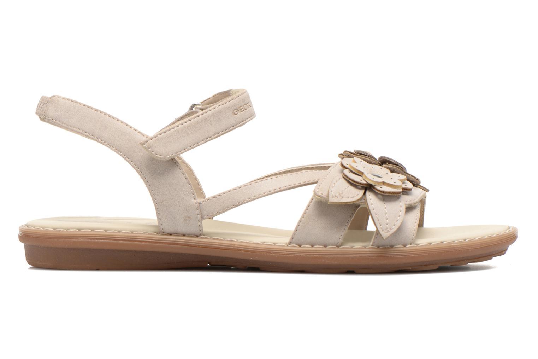 Sandali e scarpe aperte Geox JR Sandal Milk J52D1F Beige immagine posteriore