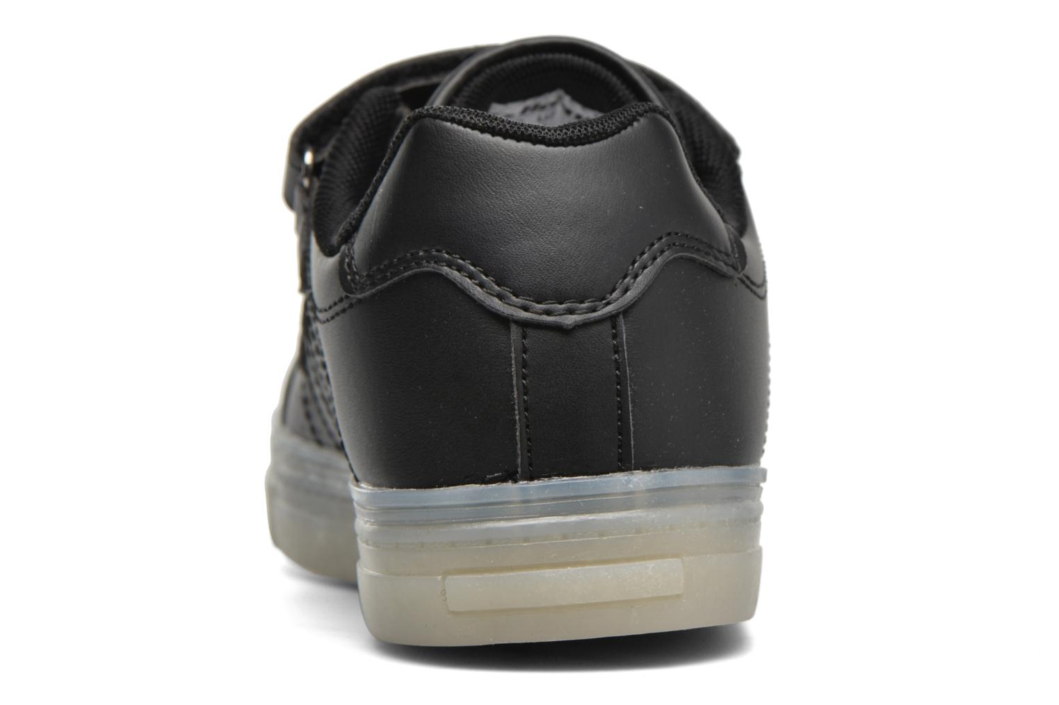 Trainers Beppi Beps Light Black view from the right