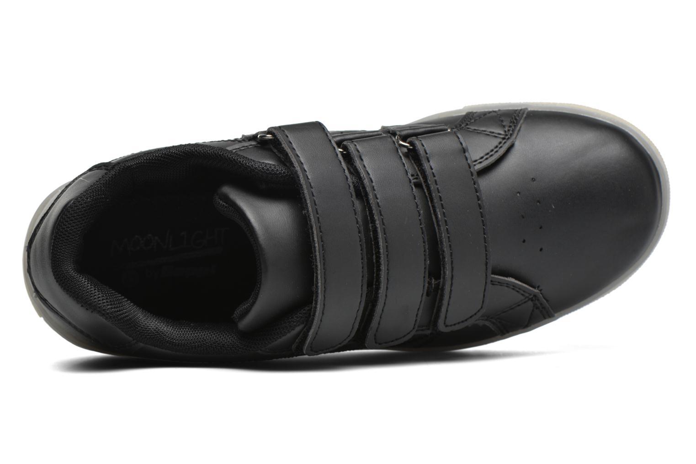 Sneaker Beppi Beps Light schwarz ansicht von links