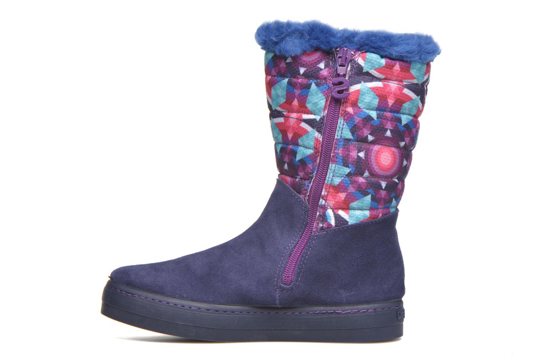 Bottes Desigual Winter Violet vue face