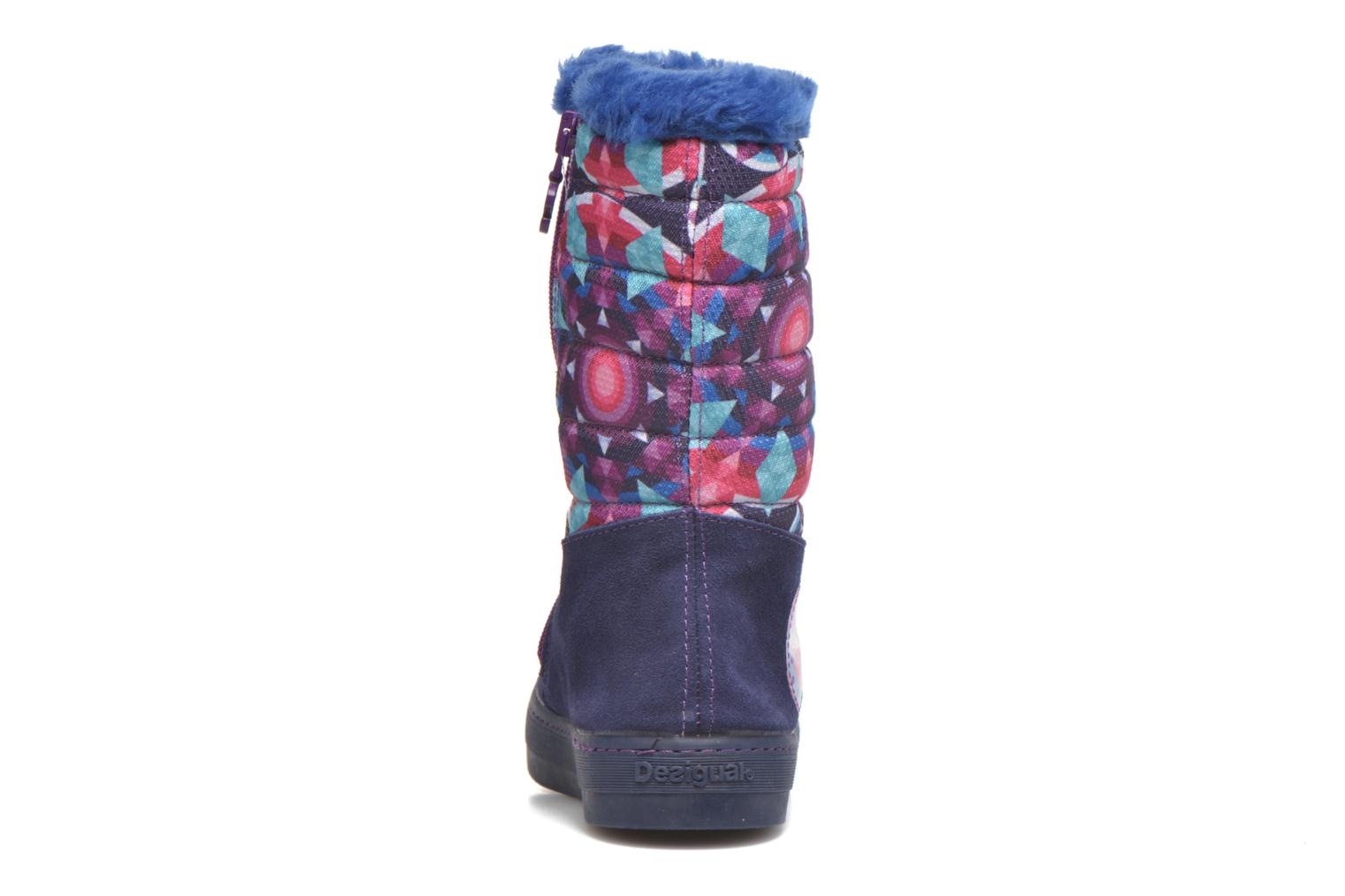 Boots & wellies Desigual Winter Purple view from the right