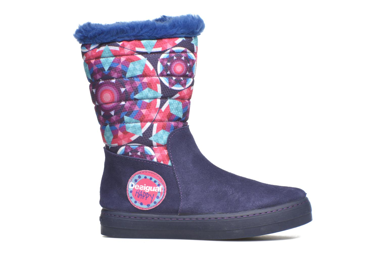 Boots & wellies Desigual Winter Purple back view
