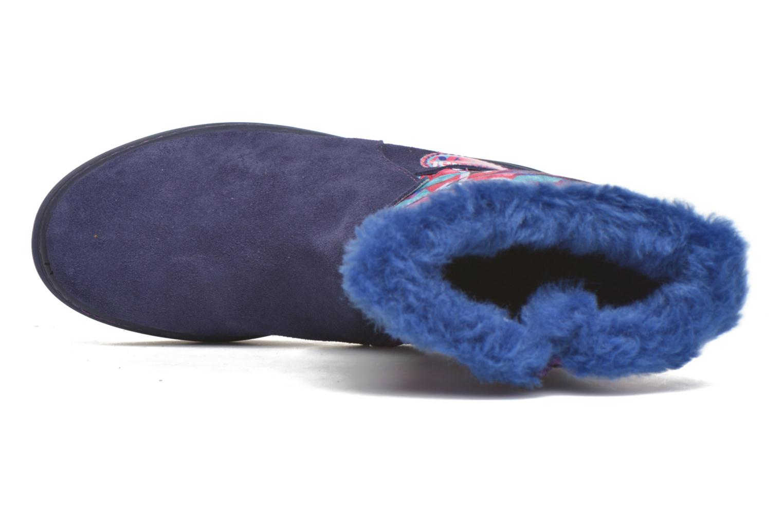 Botas Desigual Winter Violeta      vista lateral izquierda