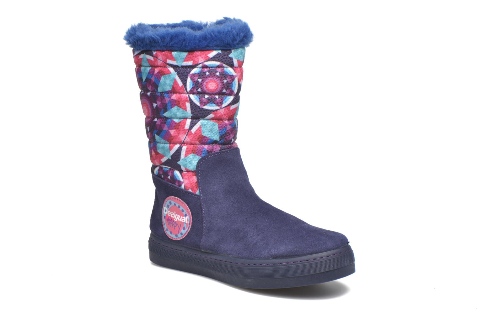 Boots & wellies Desigual Winter Purple detailed view/ Pair view
