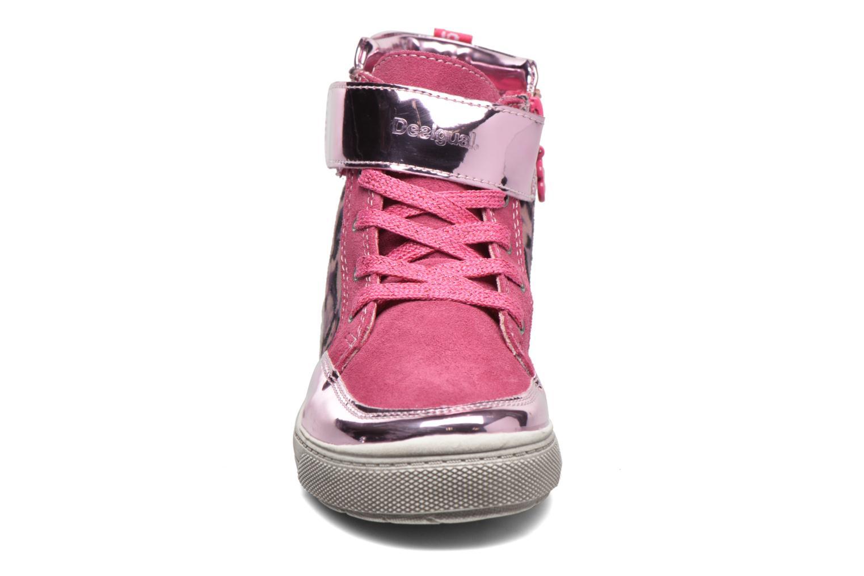 Sneaker Desigual Rask rosa schuhe getragen