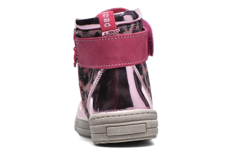 Sneaker Desigual Rask rosa ansicht von rechts
