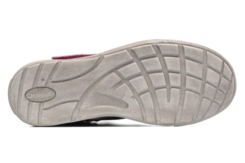 Sneaker Desigual Rask rosa ansicht von oben