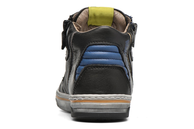 Sneaker Romagnoli Falco schwarz ansicht von rechts