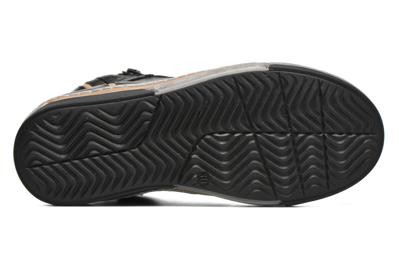 Sneaker Romagnoli Falco schwarz ansicht von oben