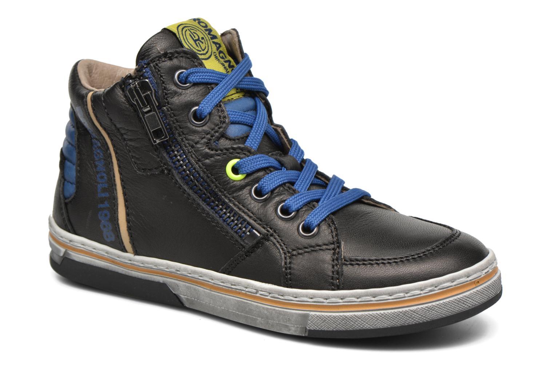 Sneaker Romagnoli Falco schwarz detaillierte ansicht/modell