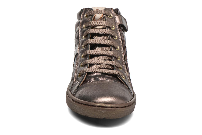 Sneaker Romagnoli Lorena gold/bronze schuhe getragen