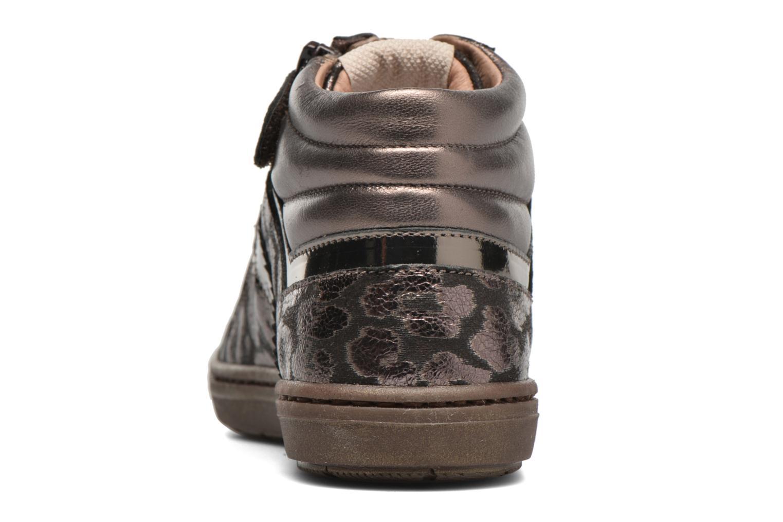 Sneaker Romagnoli Lorena gold/bronze ansicht von rechts
