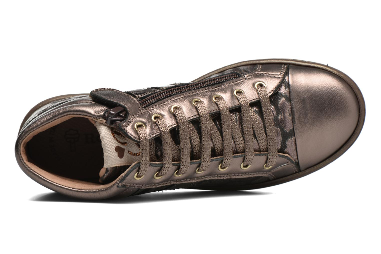 Sneaker Romagnoli Lorena gold/bronze ansicht von links
