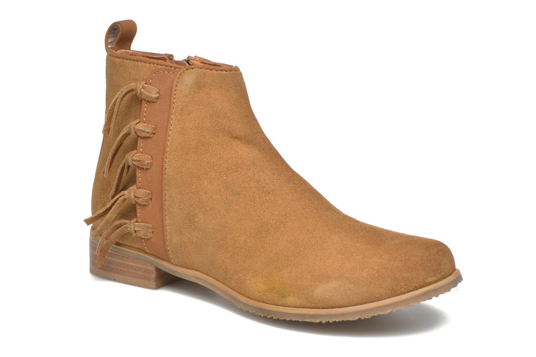 Stiefeletten & Boots Shwik Odeon Fringe beige detaillierte ansicht/modell