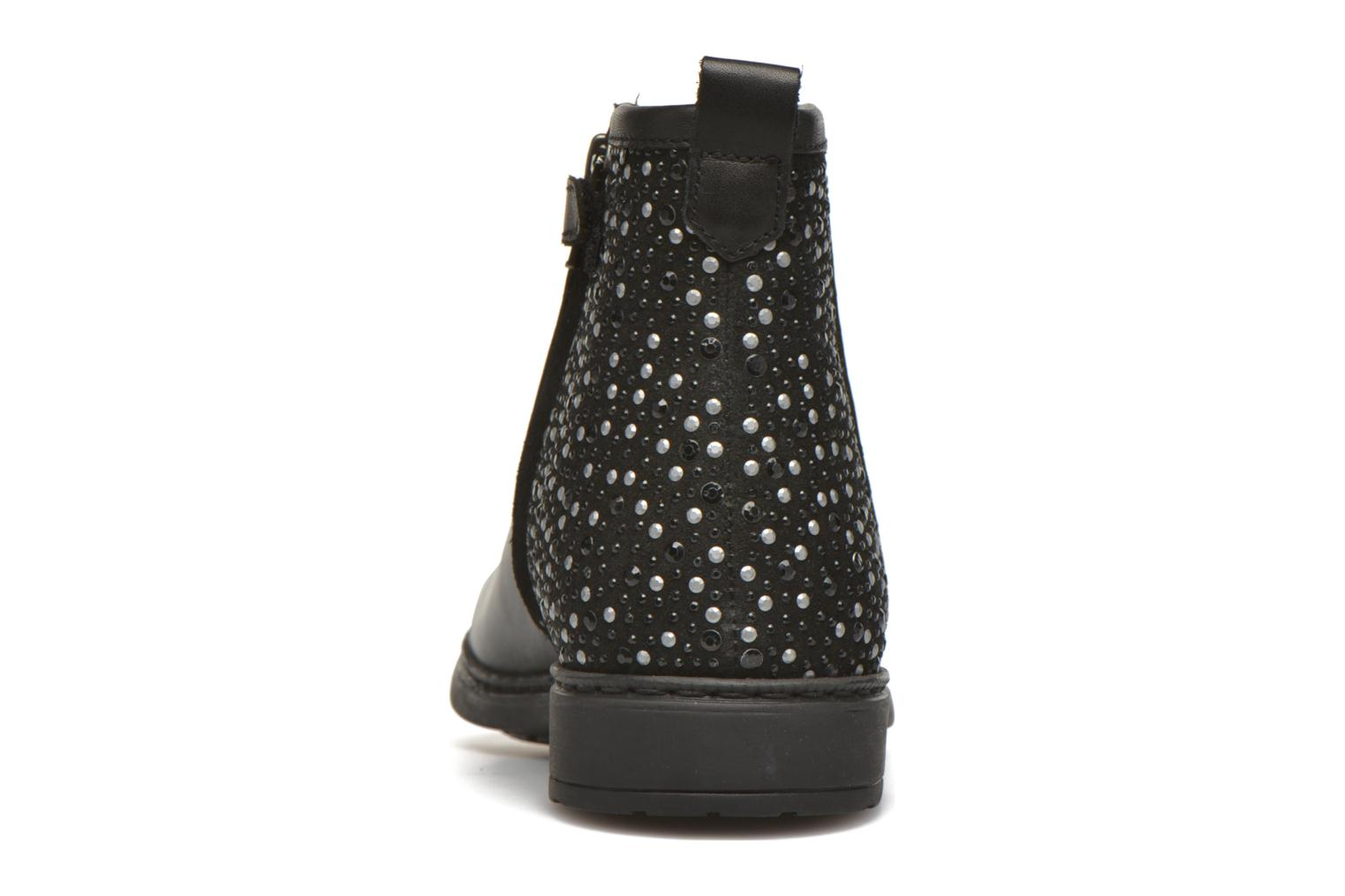 Ankle boots Shwik Picpus Back Stain Black view from the right