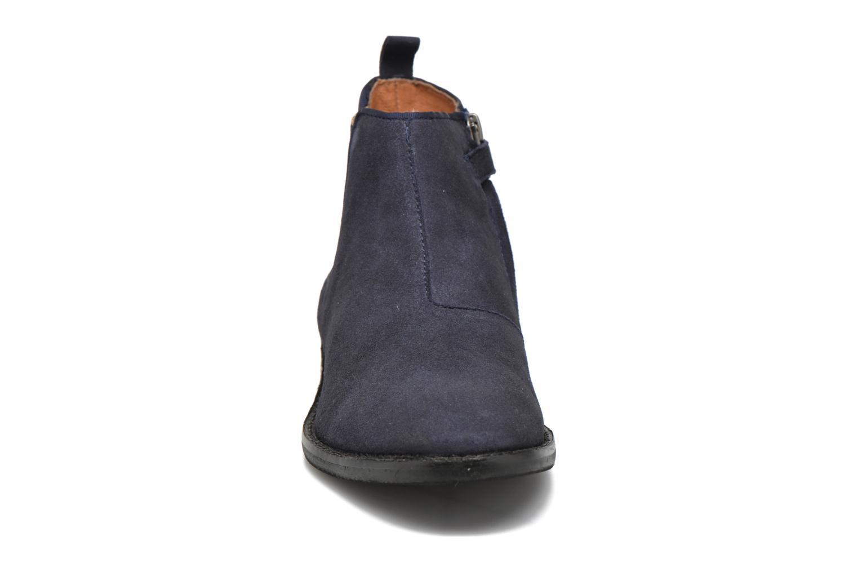 Bottines et boots Shwik Mia Brogue Zip Bleu vue portées chaussures