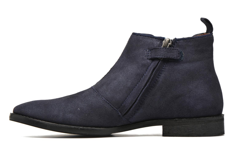 Bottines et boots Shwik Mia Brogue Zip Bleu vue face