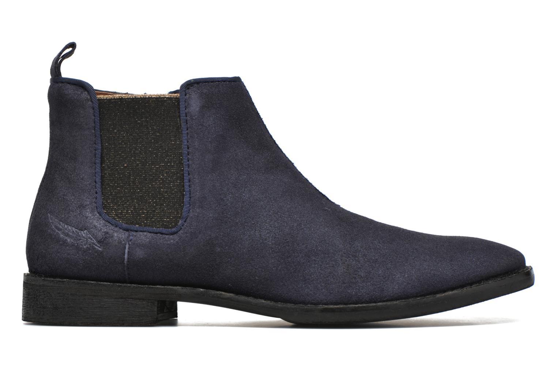 Bottines et boots Shwik Mia Brogue Zip Bleu vue derrière