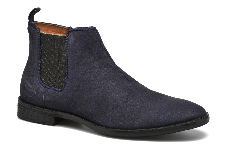 Ankle boots Shwik Mia Brogue Zip Blue detailed view/ Pair view