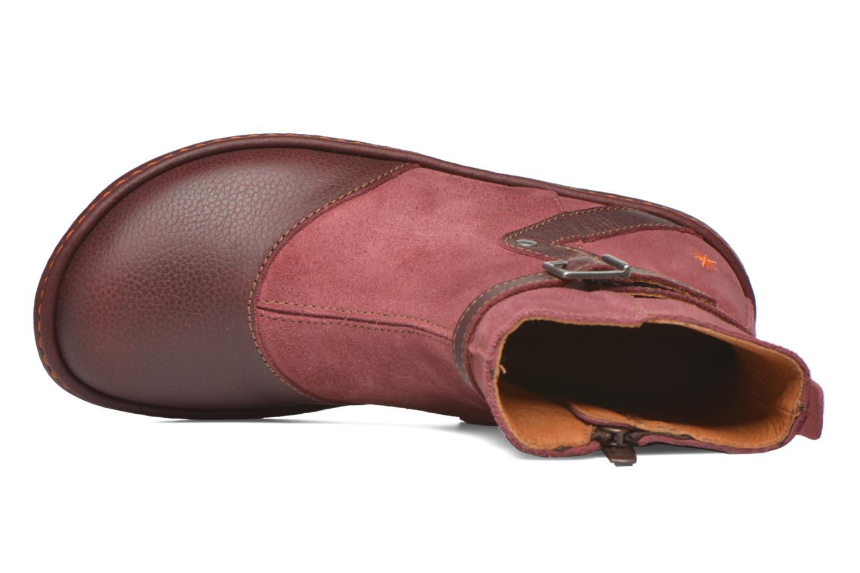 Bottines et boots Art A662 Kio Rouge vue gauche