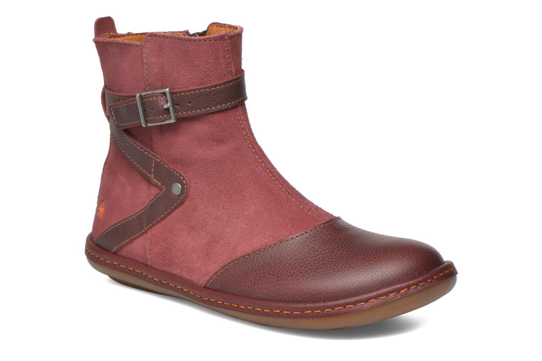 Bottines et boots Art A662 Kio Rouge vue détail/paire
