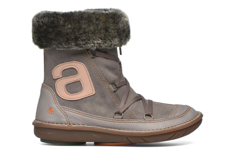 Stiefel Art A764 Berlin grau ansicht von hinten