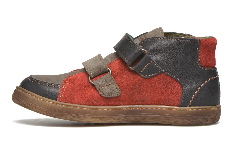 Sneaker El Naturalista E056 Kepina rot ansicht von vorne