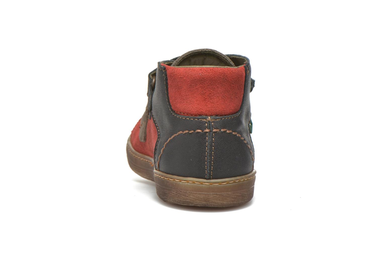 Sneaker El Naturalista E056 Kepina rot ansicht von rechts