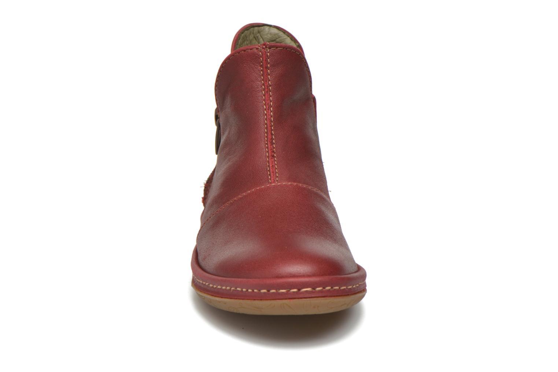 Bottines et boots El Naturalista E827 Nayade Rouge vue portées chaussures