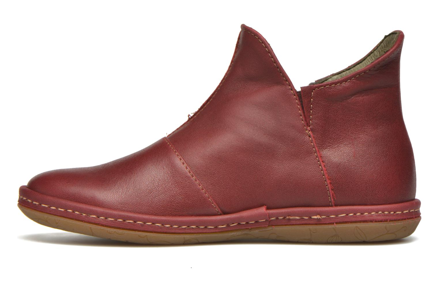 Ankle boots El Naturalista E827 Nayade Red front view