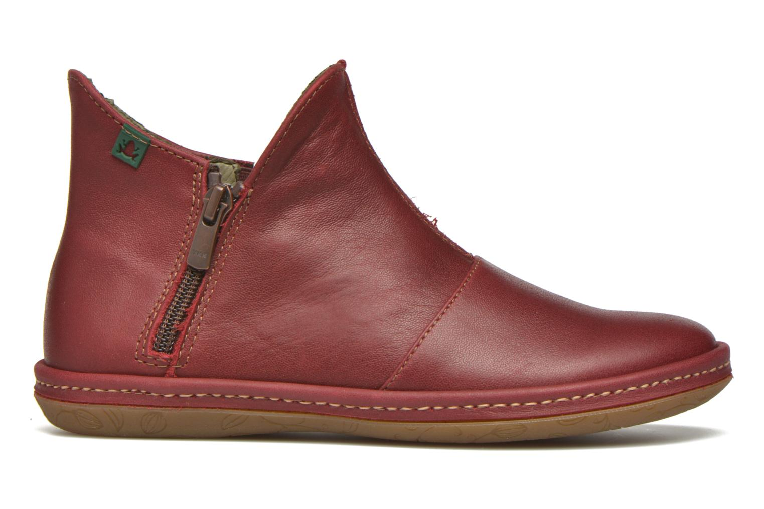 Ankle boots El Naturalista E827 Nayade Red back view