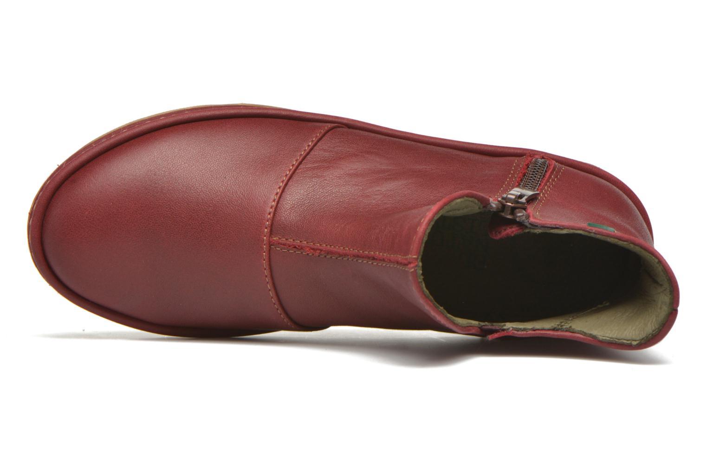 Bottines et boots El Naturalista E827 Nayade Rouge vue gauche