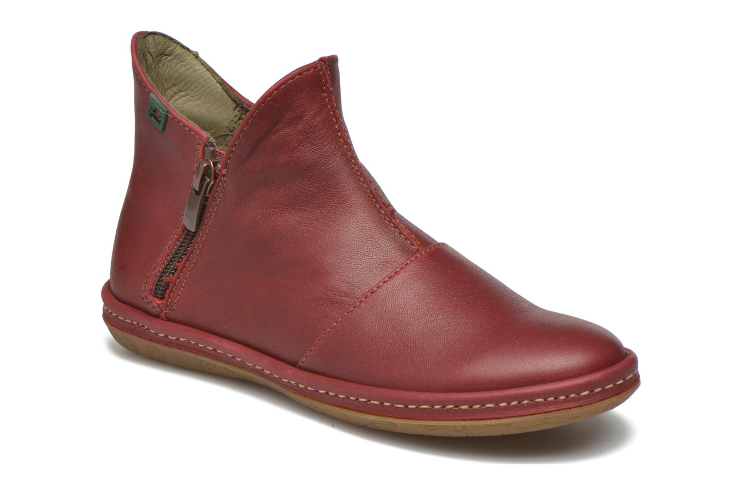 Ankle boots El Naturalista E827 Nayade Red detailed view/ Pair view