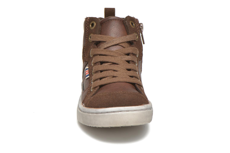 Baskets I Love Shoes xEPHRE Marron vue portées chaussures