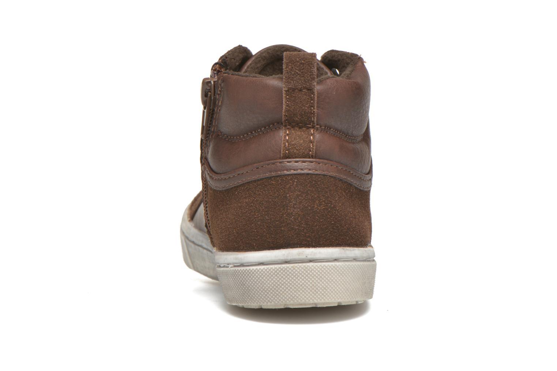 Baskets I Love Shoes xEPHRE Marron vue droite