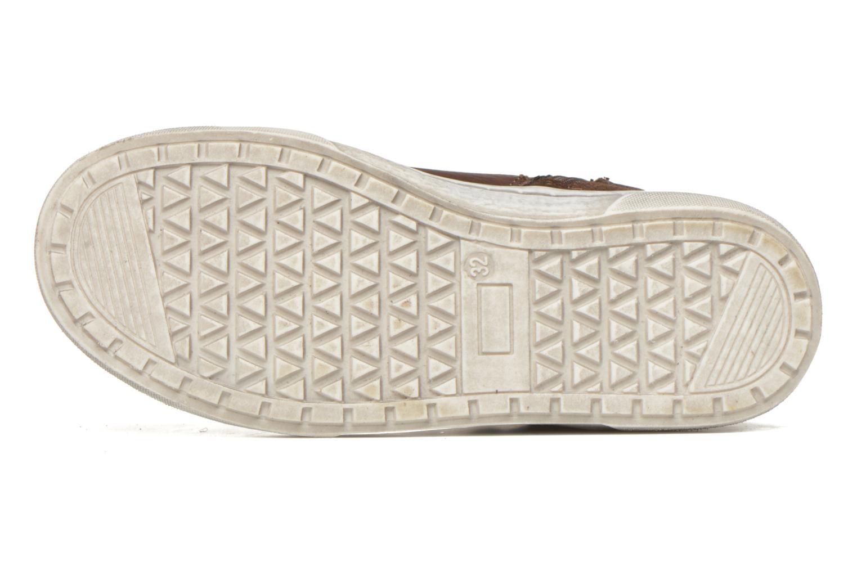 Baskets I Love Shoes xEPHRE Marron vue haut