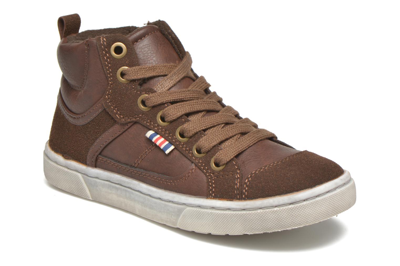 Baskets I Love Shoes xEPHRE Marron vue détail/paire