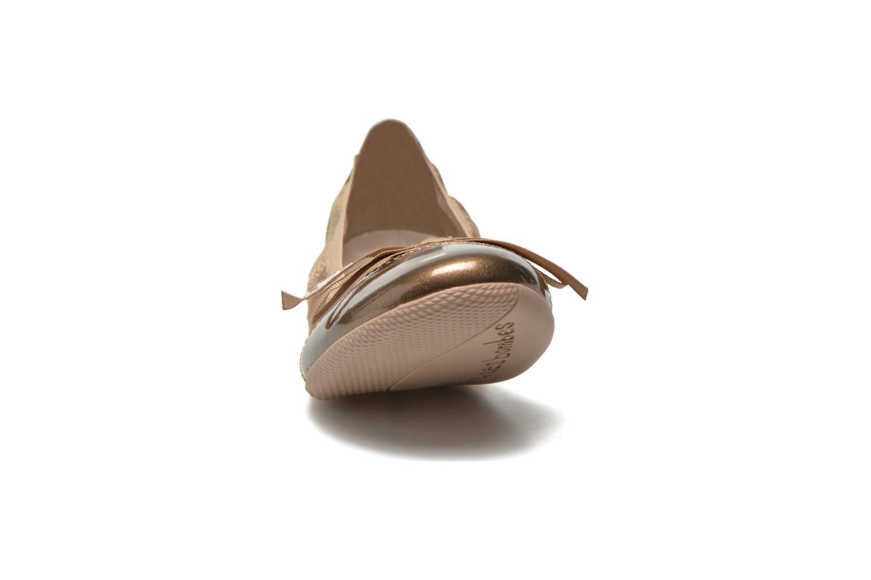 Ballerines Les P'tites Bombes Acajou Beige vue portées chaussures