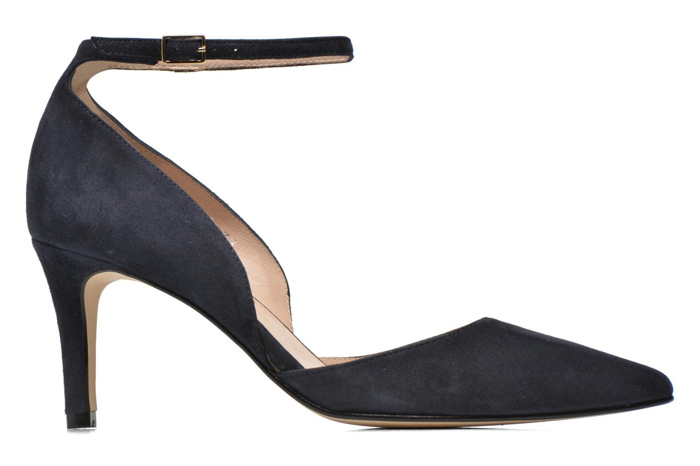High heels Georgia Rose Ficelet Blue back view