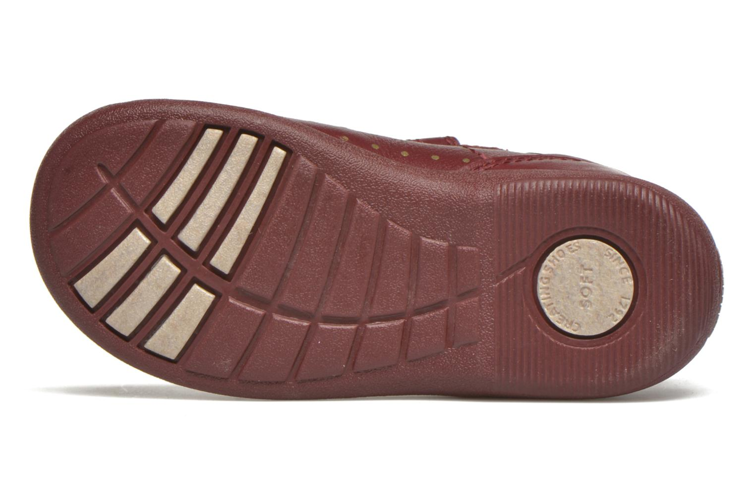 Ballerines Start Rite Daisy Bordeaux vue haut