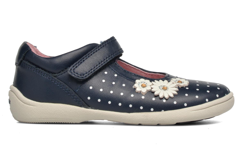 Daisy Navy/White Leather