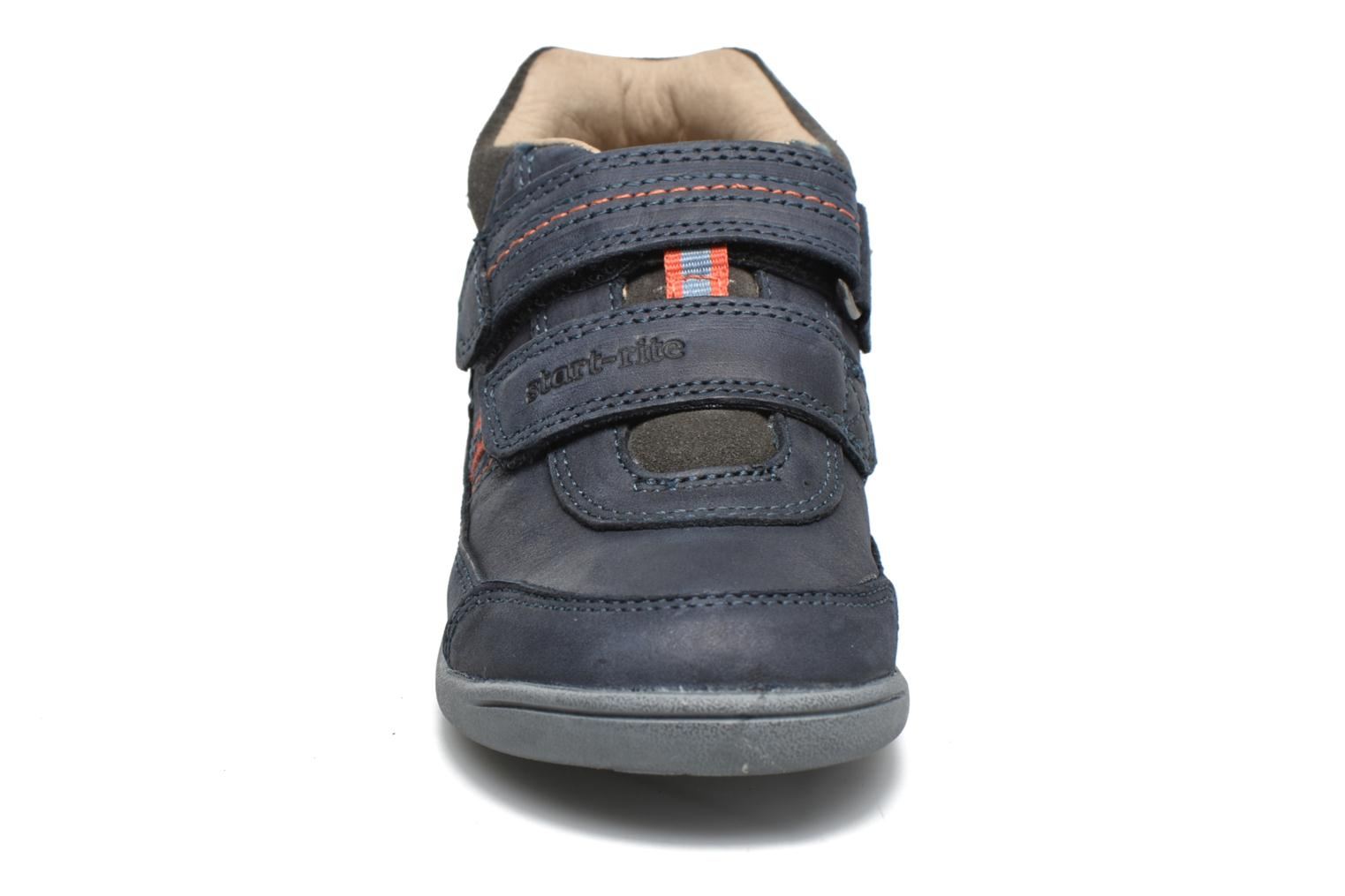 Velcro shoes Start Rite Max Grey model view