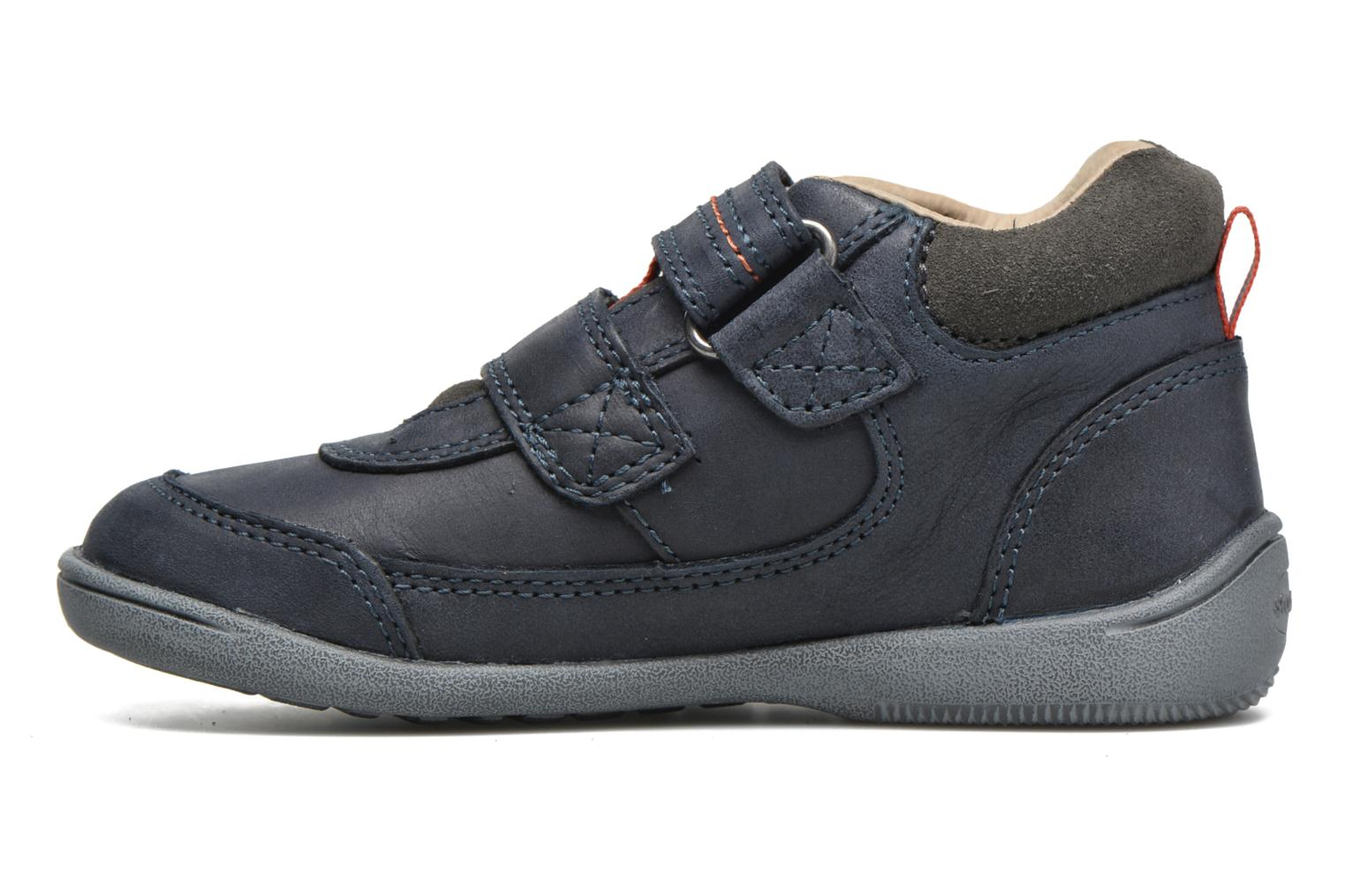Velcro shoes Start Rite Max Grey front view
