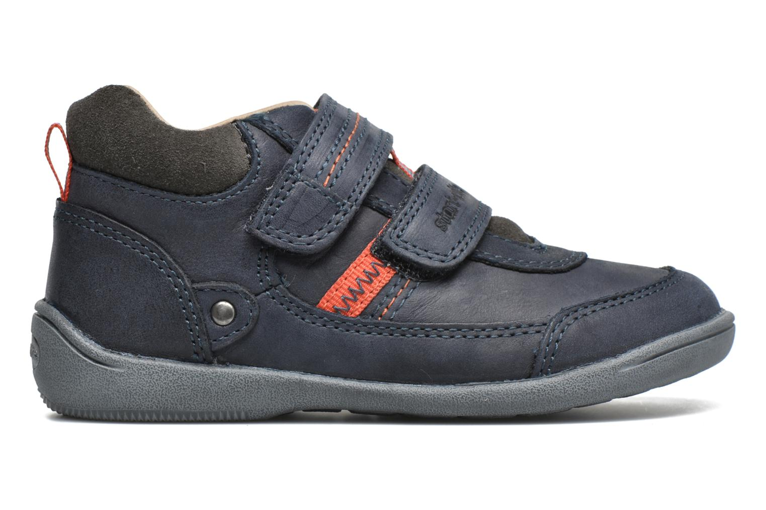 Velcro shoes Start Rite Max Grey back view