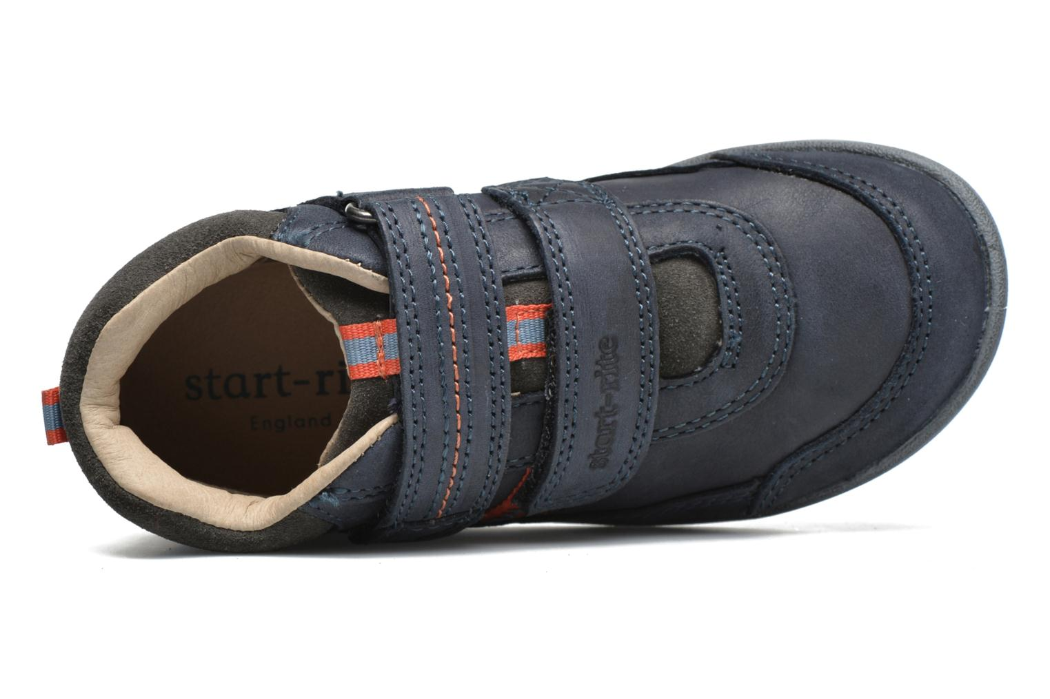 Velcro shoes Start Rite Max Grey view from the left