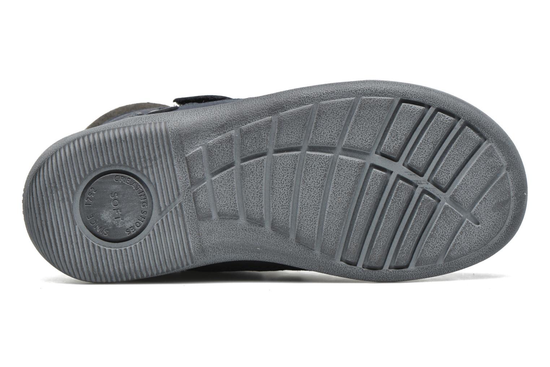 Chaussures à scratch Start Rite Max Gris vue haut