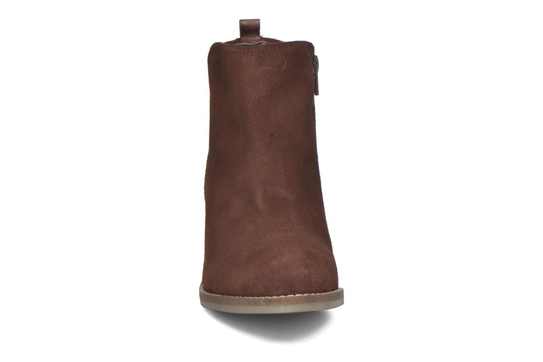 Bottines et boots Bugatti Lusie Bordeaux vue portées chaussures