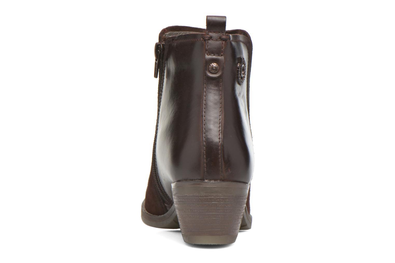Bottines et boots Bugatti Lusie Bordeaux vue droite