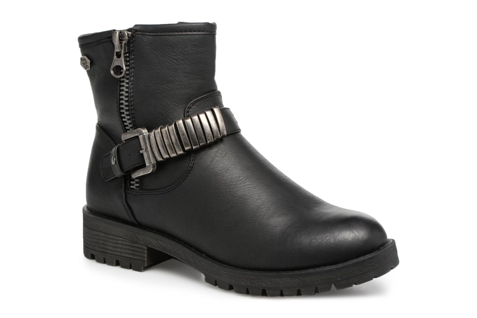 Ankle boots Refresh Marion-62163 Black detailed view/ Pair view
